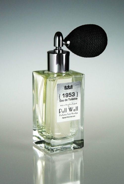 1953 Eau de Toilette by Pell Wall in 50ml puffer spray bottle