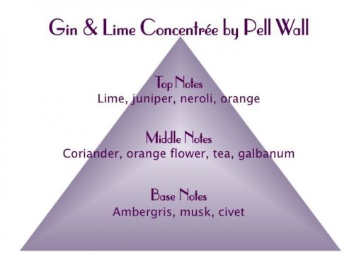 Gin and Lime Concentrée Scent Pyramid