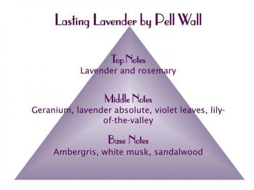 Lasting Lavender Scent Pyramid