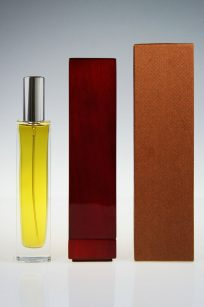 Luxury presentation used for Bespoke Fragrances