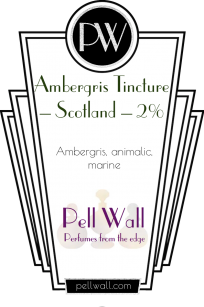 Ambergris Tincture – Scotland – 2% Product Image