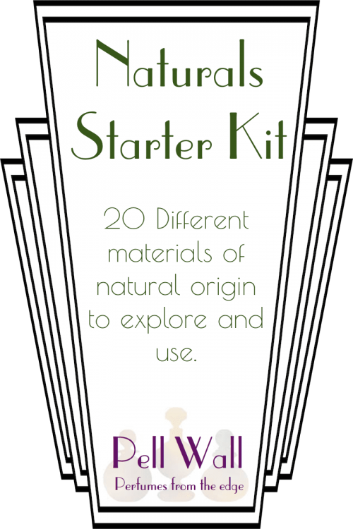 Starter Kit of Perfumery Materials of Natural Origin