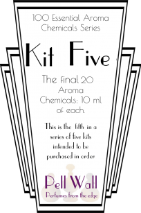 100 Essential Aroma Chemicals - Kit Five - top