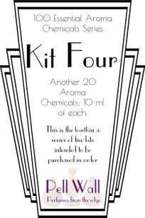 100 Essential Aroma Chemicals - Kit Four