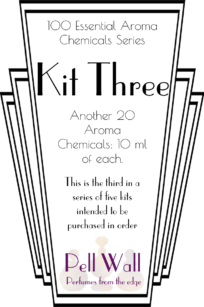 100 Essential Aroma Chemicals - Kit Three