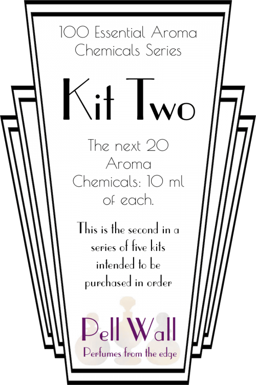 100 Essential Aroma Chemicals: Kit Two