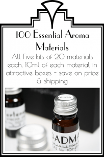 All 100 Essential Aroma Materials