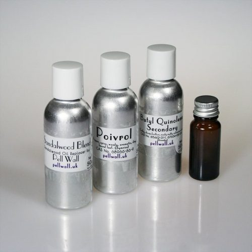 3x50ml Labelled with 10ml amber glass