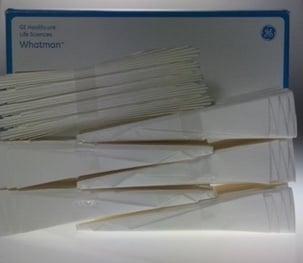 Filter paper bundles
