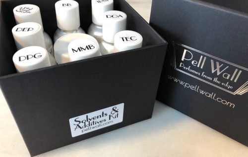 Solvents and Additives Kit in open box