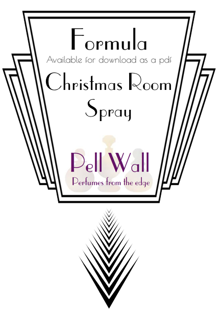 Christmas Room Spray Formula Product Image