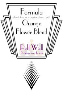 Orange Flower Blend Formula Product Image