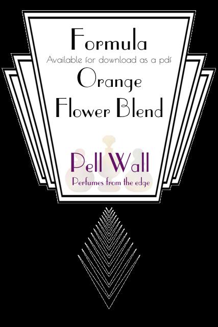 Orange Flower Blend Formula Product Image