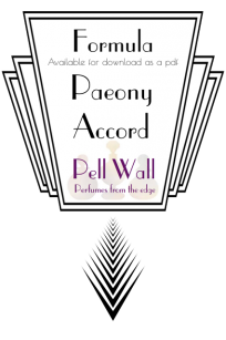 Paeony Accord Formula Product Image