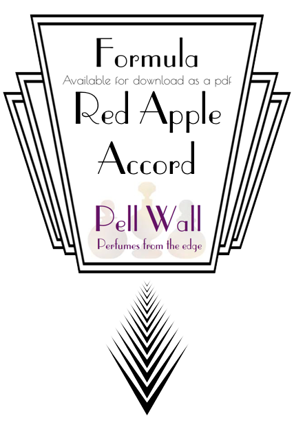 Red Apple Accord Formula Product Image