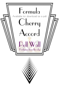 Cherry Accord Formula Product Image
