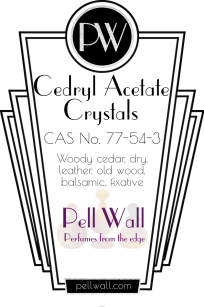 Cedryl Acetate Crystals