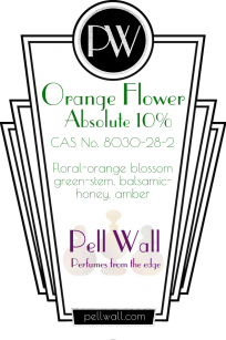 Orange Flower abs 10%