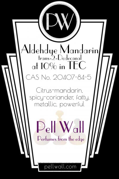Aldehyde Mandarin 10% TEC